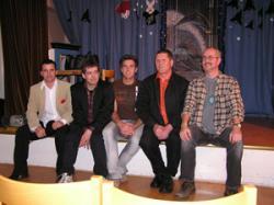 Boje, Kjell, Anders, Harald och Kåre