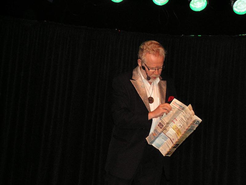 Trollkarlen Christer trollar på Magifestivalen 2008