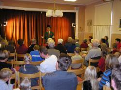 Max Birger Presenterar